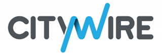 Logo reads Citywire. In grey is: Cit and Ire. In blue:YW.